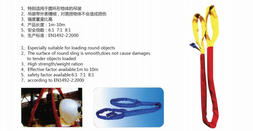 DH-05 Round sling Eye-shaped